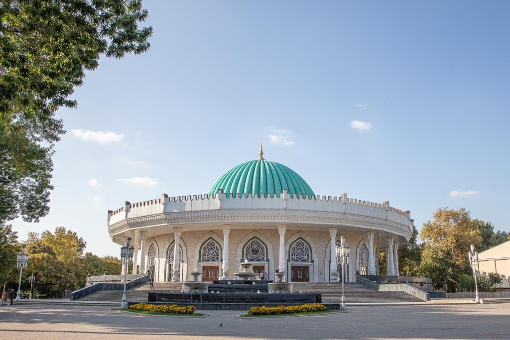 Amir Timur Museum, Amir Timur, Tashkent, Uzbekistan, Central Asia