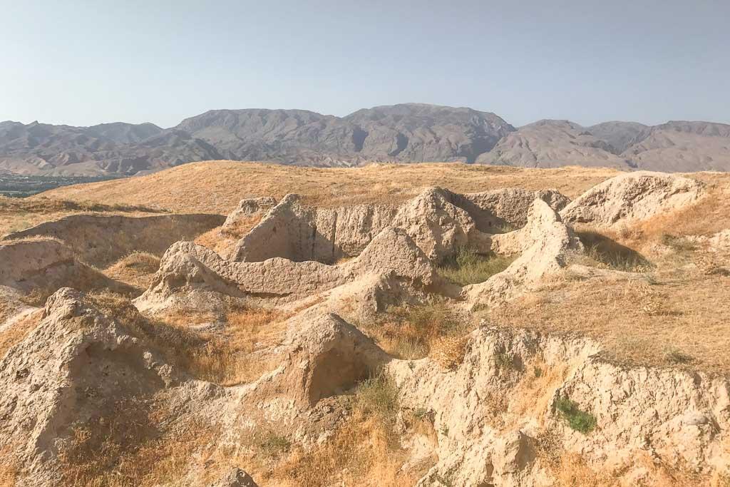 Panjakent, Ancient Panjakent, Penjikient, Tajikistan, Sughd