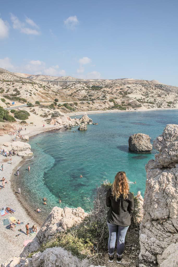 Petra Tou Romiou, Aphrodite's Rock, Cyprus, Paphos