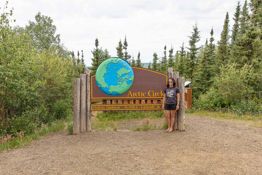 Arctic Circle, Alaska, Dalton Highway, Fairbanks day trip
