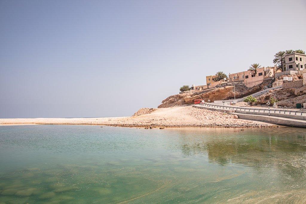 Wadi Shab, Ash Shab, Oman, Coastal Oman, Omani village