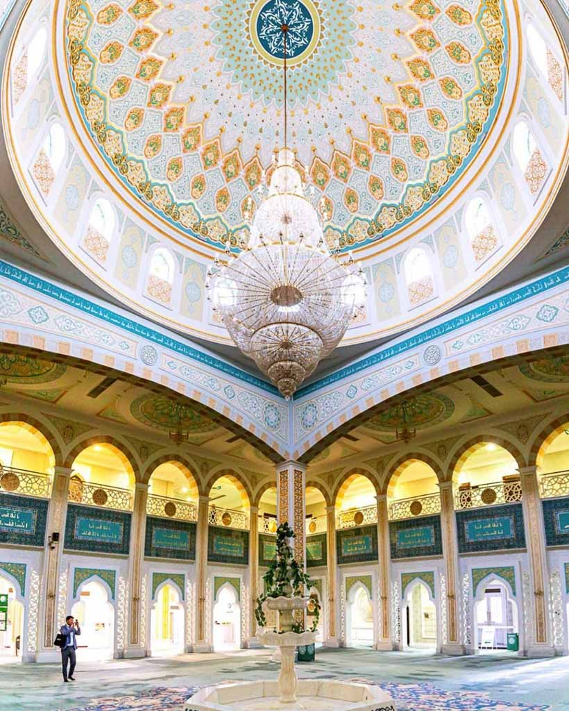Nur Sultan, Astana, Kazakstan, Dan flying solo