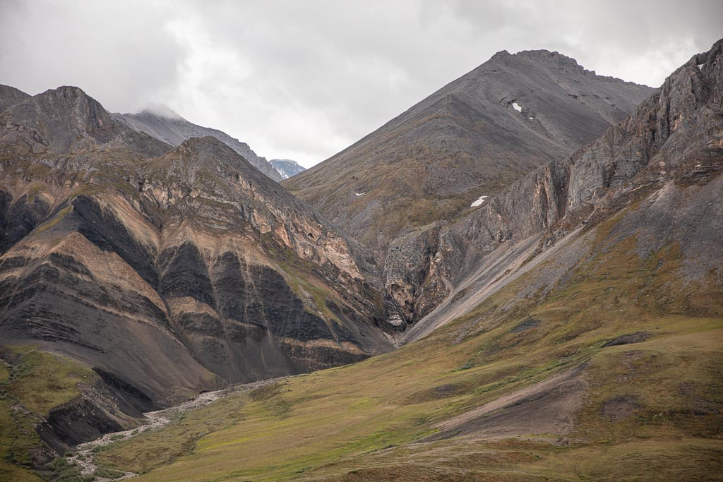 Atigun Gorge, Arctic National Wildlife Refuge, Alaska, ANWR