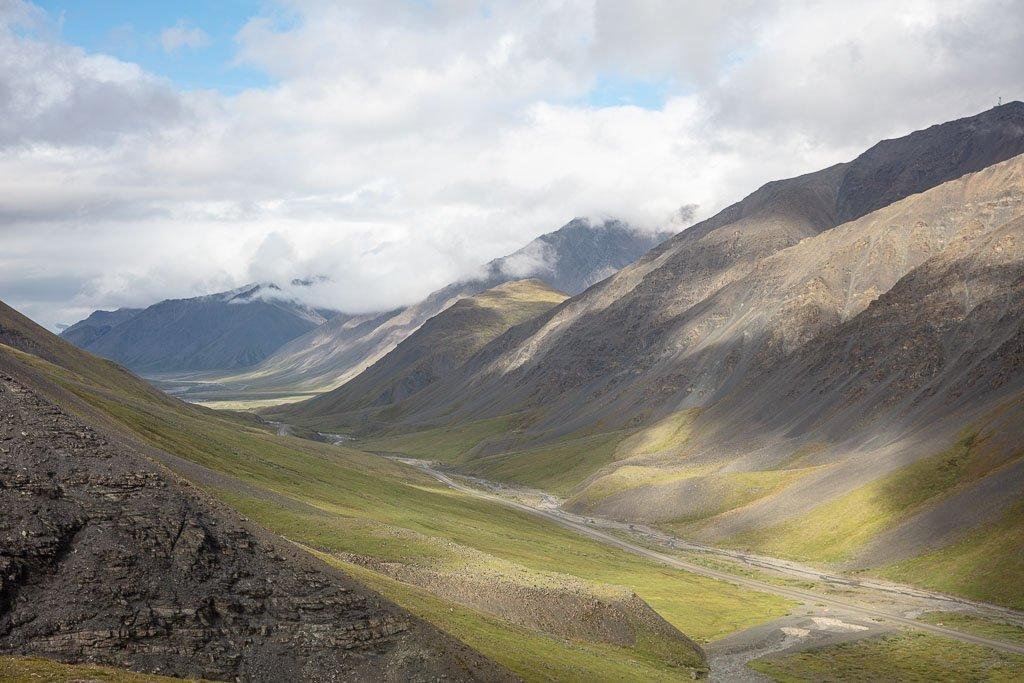 Atigun Pass, Atigun, Dalton Highway, Haul Road, Alaska, Arctic, Northern Alaska