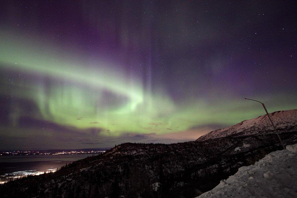 northern lights alaska, northern lights in alaska, aurora alaska, aurora in alaska, here's some aurora, eagle river, alaska