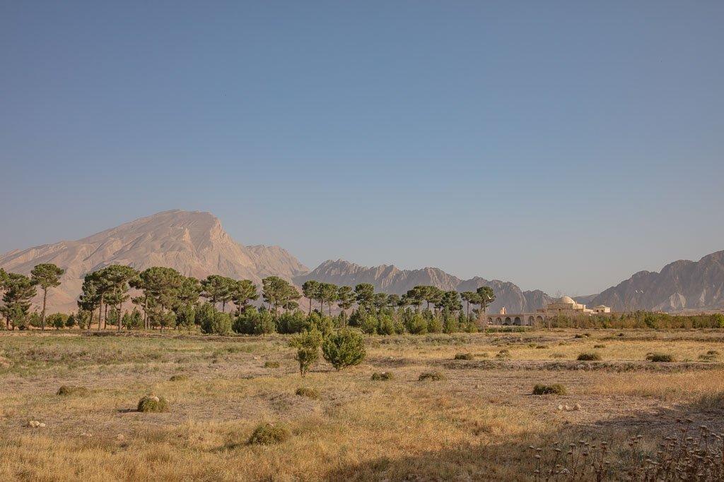 Afghanistan, Balkh, Bagh e Jahan Nama, Bagh e Jahan Nama Palace
