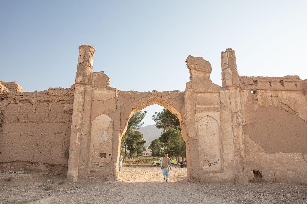 Bagh e Jahan Nama, Bagh e Jahan Nama Gates, Bagh e Jahan Name Palace, Balkh, Afghanistan