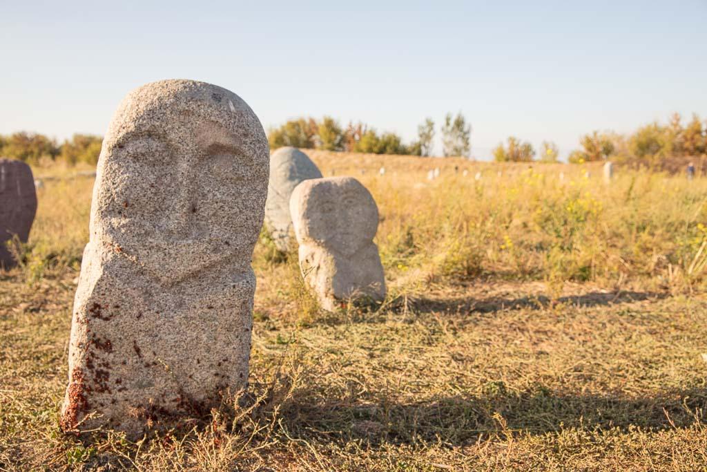 Kyrgyzstan, Burana, Burana Tower, Chuy, Balbal, Balbals, Burana statues, Burana, Burana Kyrgyzstan, Kyrgyzstan, Kyrgyzstan statue, Kyrgyz statue, Kyrgyzstan, Central Asia