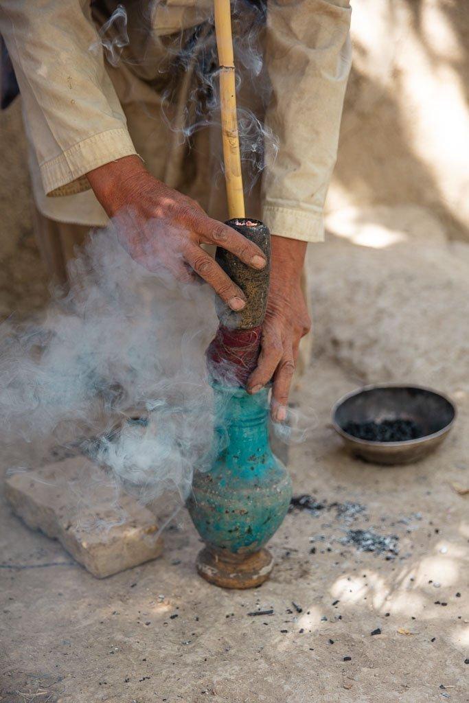 Hashish, Old Balkh, Afghanistan