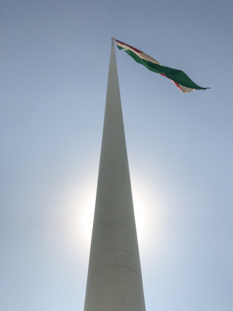 Dushanbe, Dushanbe Guide, Dushanbe City Guide, Dushanbe Travel Guide, Bayrak, world's tallest flagpole
