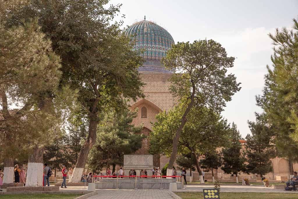 Bibi Khanym Mosque, Samarkand, Uzbekistan