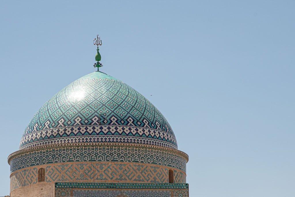 Sayyed Roknaddin Mausoleum, Sayyed Roknaddin Shrine, Sayyed Roknaddin Tomb, Sayyed Roknaddin, Yazd, Old City, Yazd Old City, Iran, Middle East, Persia
