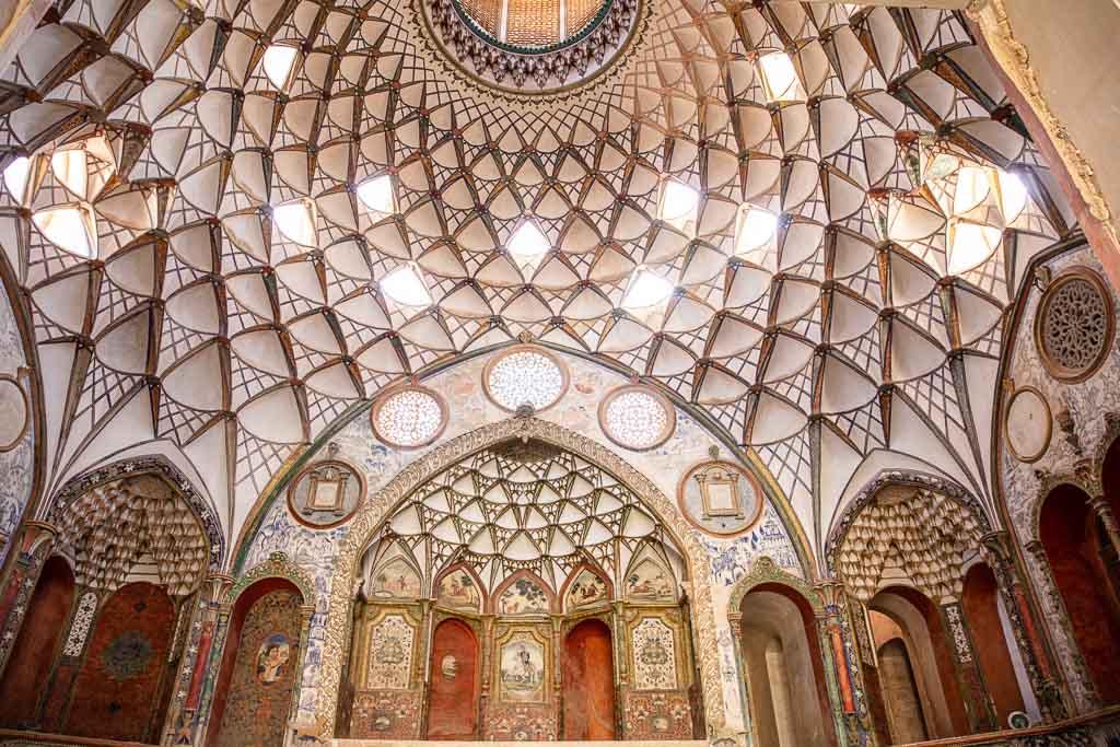 Borujerdi House, Borujerdi House Kashan, Kashan Historic Houses, Kashan, Iran