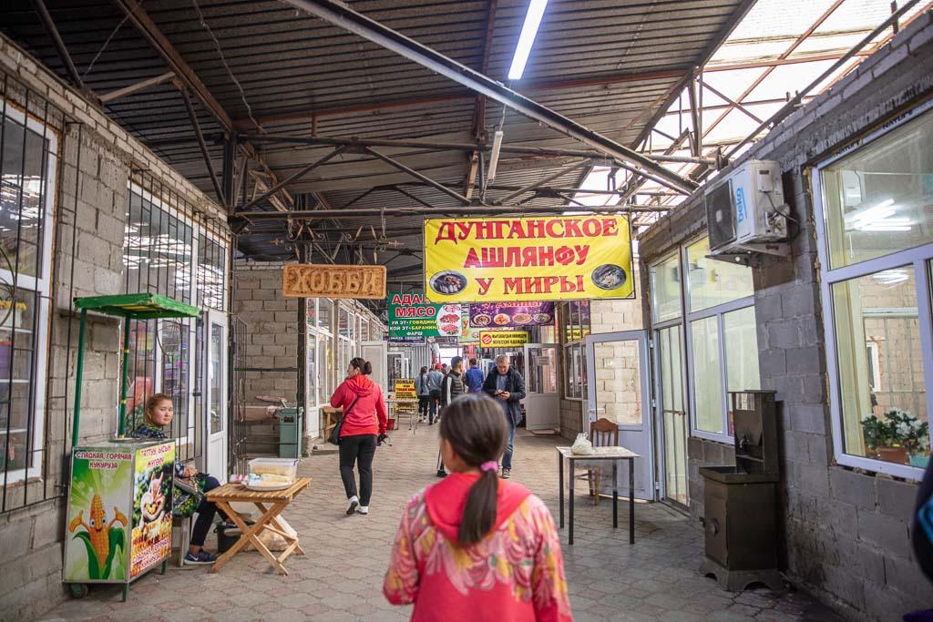 Karakol, Karakol Bazaar, Kyrgyzstan