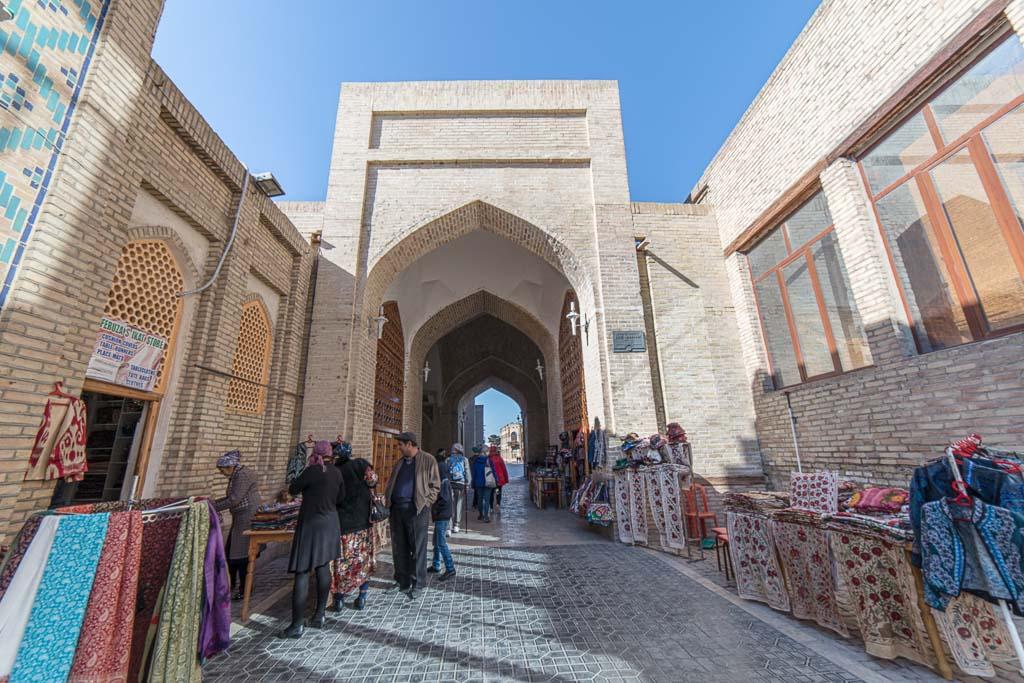 Covered Bazaar, Bukhara, Uzbekistan, Bukhara Bazaar