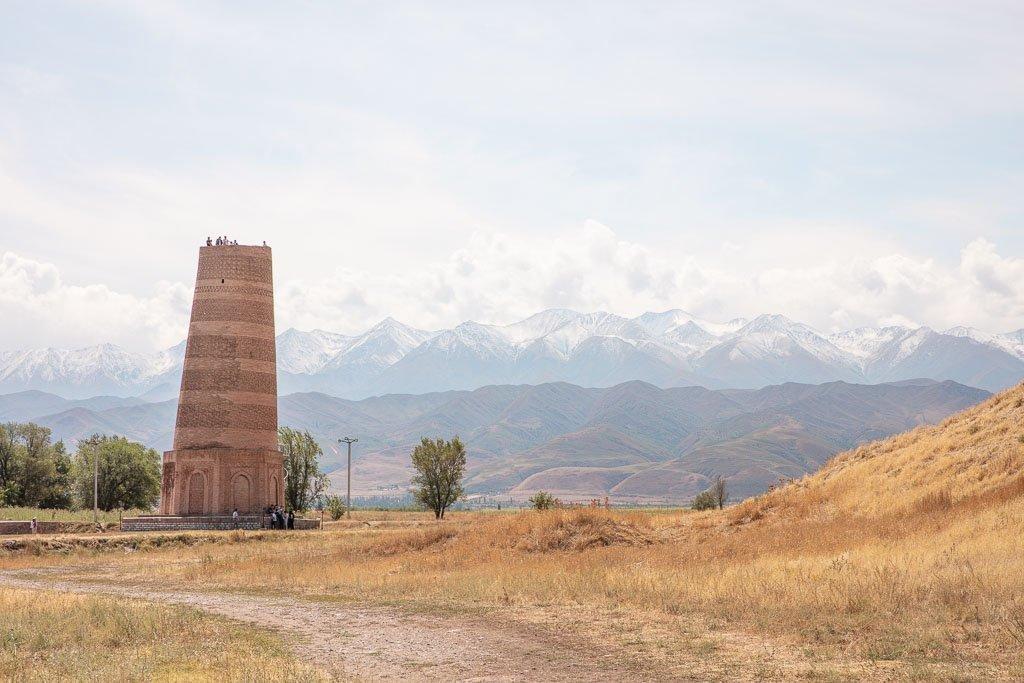 Burana Tower, Kyrgyzstan, Burana