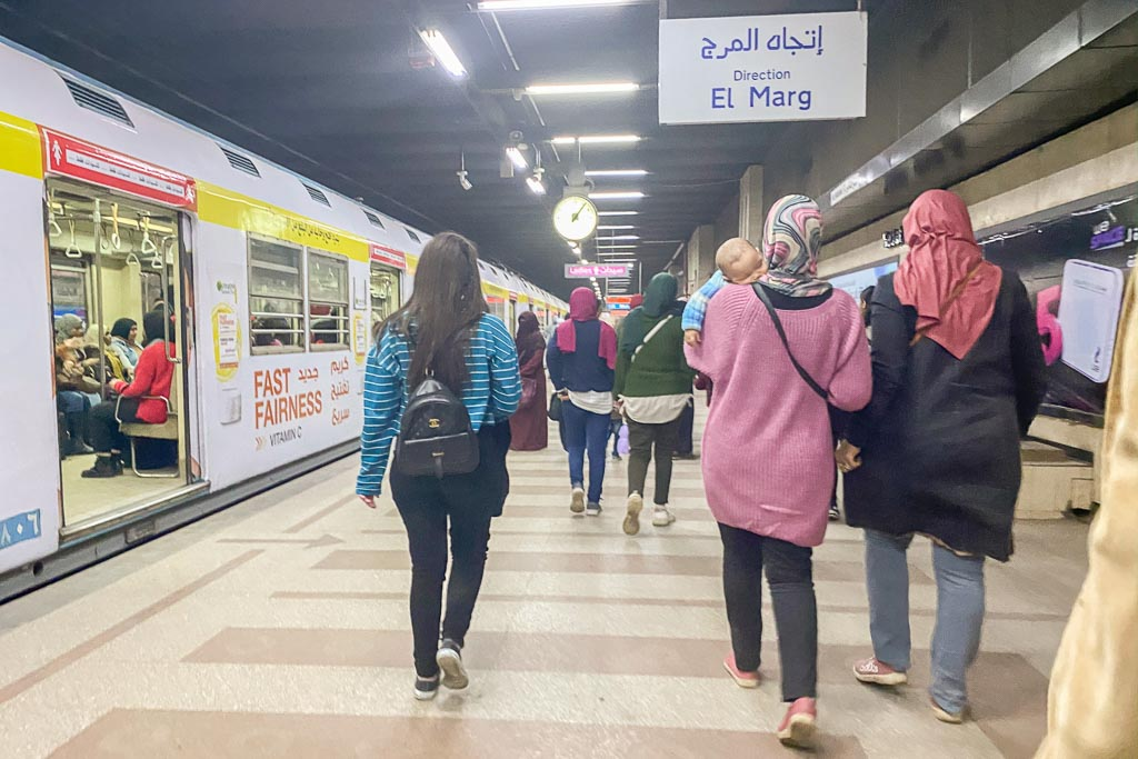 Cairo Metro, Cairo Metro Station, Cairo, Egypt, El Marg, El Marg Station