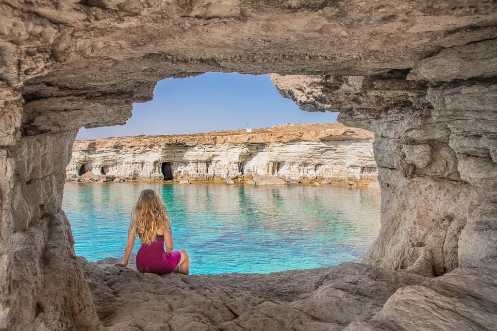 Cyprus, Cape Greco, Cape Greco Sea Caves, Ayia Napa, Agia Napa