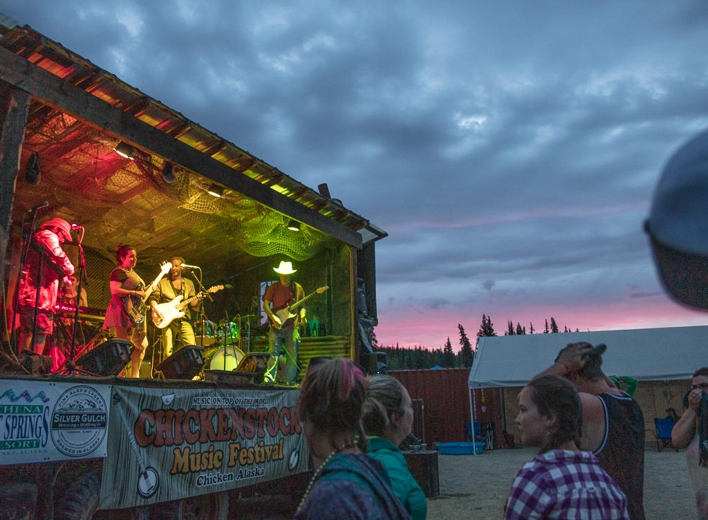 Chickenstock, Chickenstock music festival, Chickenstock bluegrass festival, Alaska, Chicken Alaska, Alaska travel guide