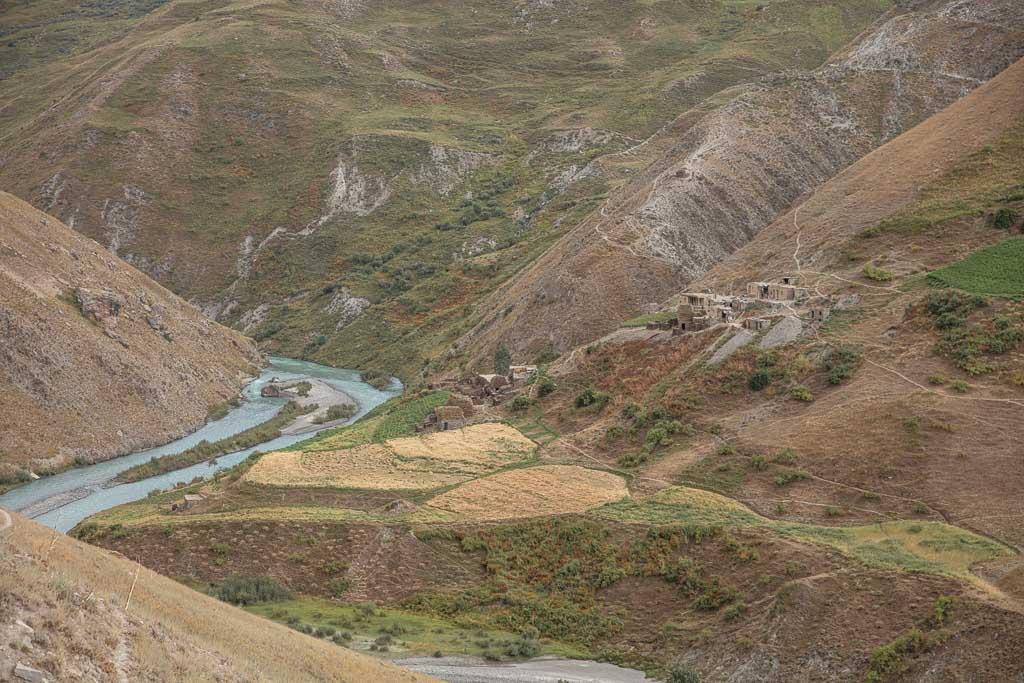 Dehbaland, Yaghnob, Yagnob, Yagnob Valley, Tajikistan, Central Asia, Yaghnob