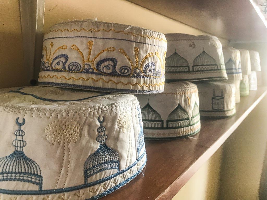 Doppa, doppa caps, Istaravshan, Tajikistan
