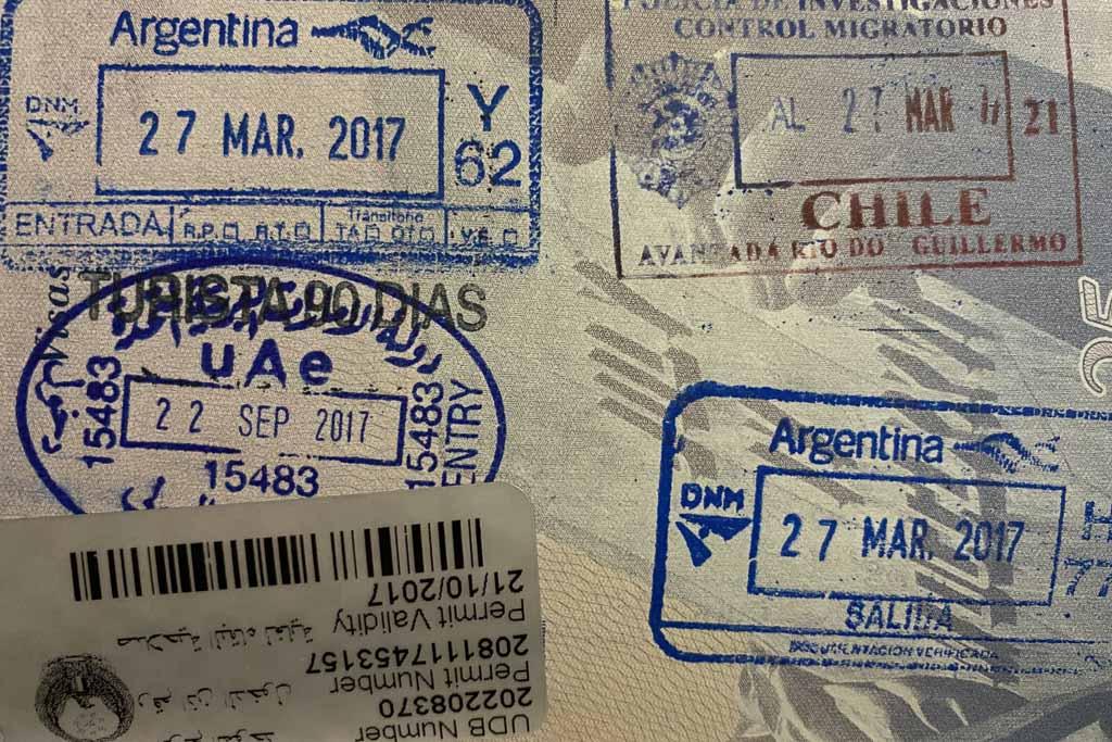 Dubai Oman Common Visa, Dubai Visa, UAE Visa, United Arab Emirates Visa, Chilean Visa, Cile Visa, Argentina Visa, Argentinian Visa, UAE entry stamp, United Arab Emirates entry stamp, Chile entry stamp, Chilean entry stamp, Argentina entry stamp, Argentinian entry stamp