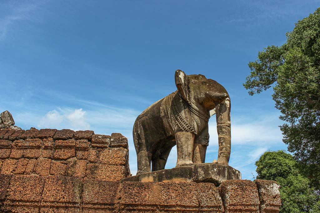 Angkor Wat elephant