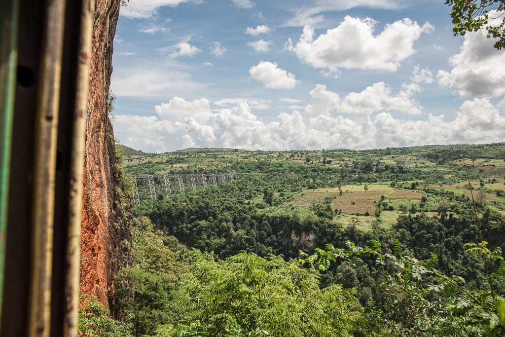 Myanmar, Myanmar Itinerary, 2 week Myanmar Itinerary, Myanmar 2 weeks, Myanmar 2 week itinerary, 2 weeks in Myanmar, Myanmar 2 week, Burma, Asia, Southeast Asia, Goteik, Goteik Viaduct, Viaduct, Myanmar Train, Hsipaw Pwin Oo Lwin Train