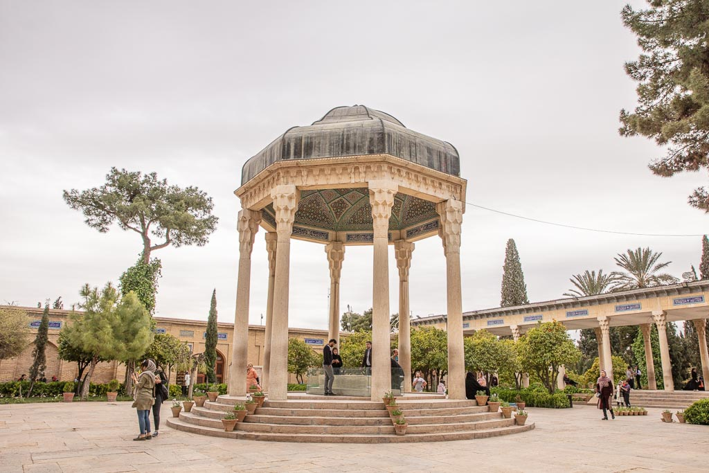 Hafez Shrine, Hafez Tomb, Shiraz, Fars, Pars, Iran