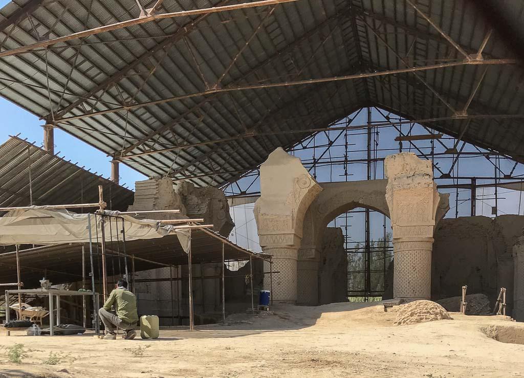 Haji Piyada, Haji Piyada Mosque, Noh Gonbad Mosque, 9 Cupola Mosque, Balkh, Old Balkh, Mazar e Sharif, Afghanistan