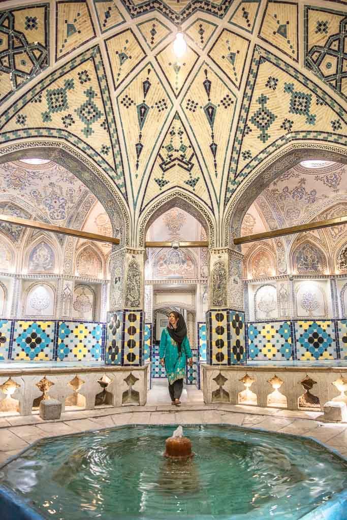 Amir Ahmad Bathhouse, Mir Ahmad Hammam, Hammam e Mir Ahmad, Kashan Hammam, Kashan bathhouse, Kashan, Iran