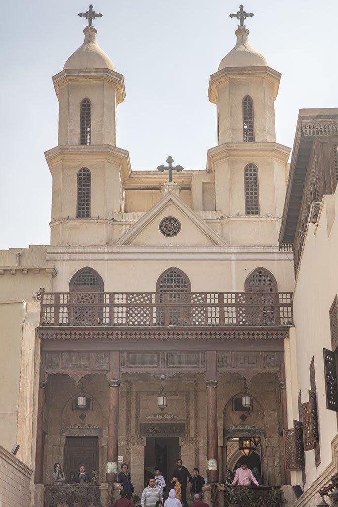 Hanging Church, Hanging Church Cairo, Coptic Church, Coptic Cairo, Cairo, Egypt, North Africa, Africa