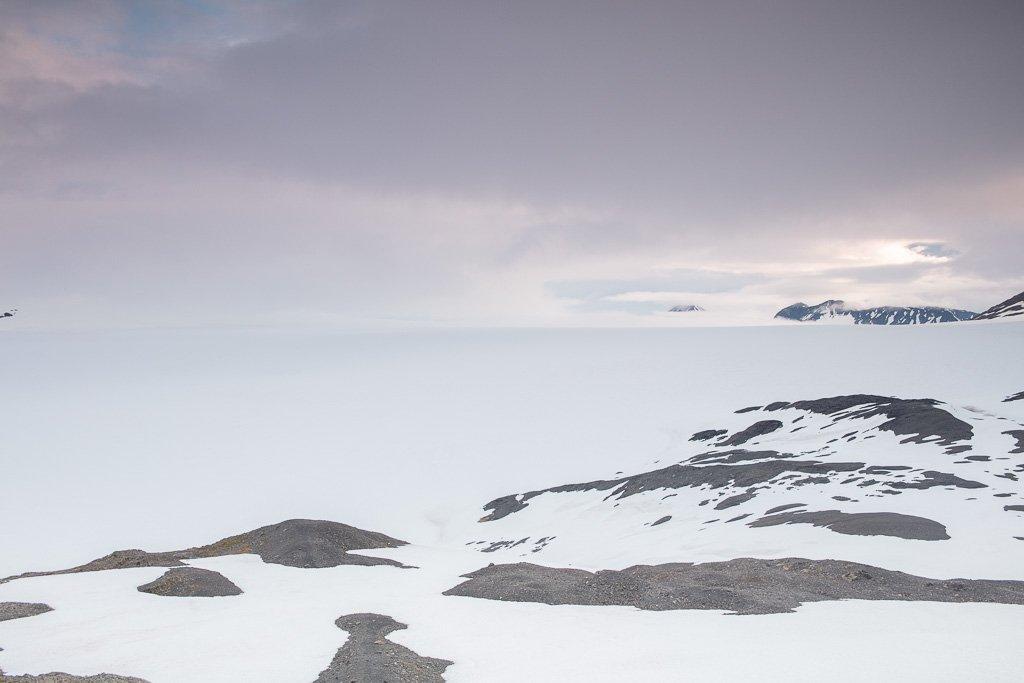Harding ice field, Harding Icefield, Kenai Fjords National Park, Alaska
