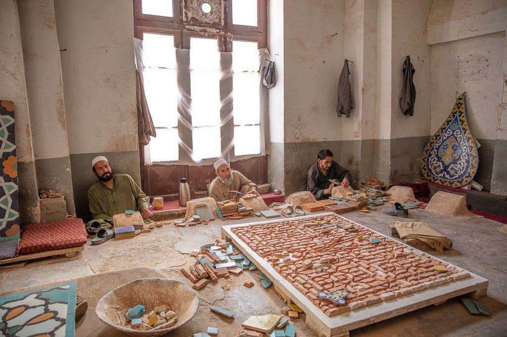 Great Mosque of Herat, Herat, Afghanistan, Herat Friday Mosque, Herat Mosque, Afghanistan mosque, herat tilemakers, tilemakers, tilemakers of Herat