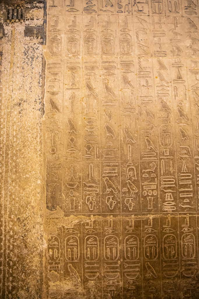 Saqqara, hieroglyphics, Cairo, Egypt, North Africa, Africa
