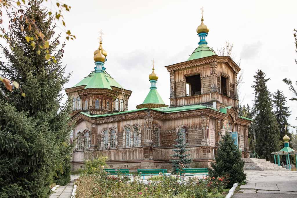 Holy Trinity Cathedral, Holy Trinity Cathedral Kyrgyzstan, Holy Trinity Cathedral Karakol, Karakol Cathedral, Kyrgyzstan Cathedral, Karakol, Kyrgyzstan Travel Guide, Kyrgyzstan