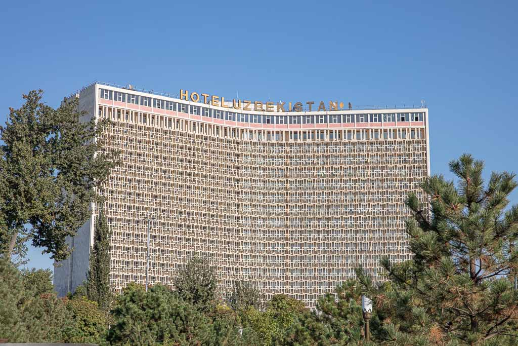 Hotel Uzbekistan, Amir Timur Square, Tashkent, Uzbekistan, Central Asia