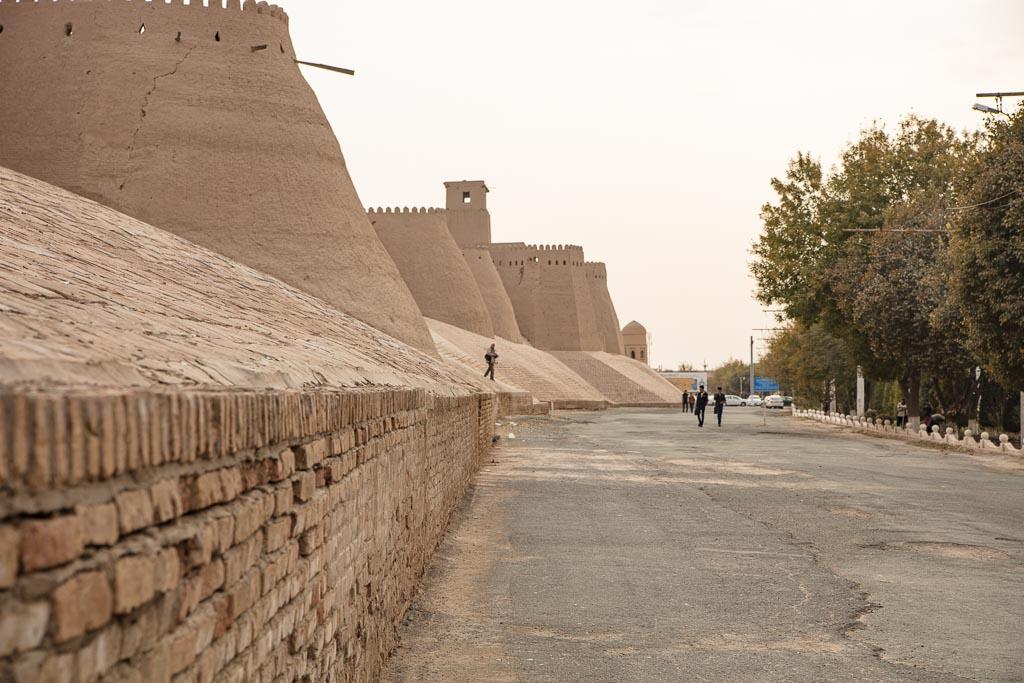 Uzbekistan, Uzbekistan travel guide, Uzbekistan travel, Uzbekistan guide, Khiva, Itchan Qala, Itchan Kala, Itchan Kala Walls, Ichan Qala, Icahn Kala