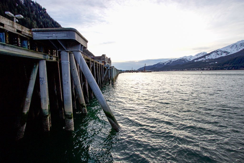 Juneau Harbor, Juneau, Alaska, southeast Alaska, USA, Juneau waterfront