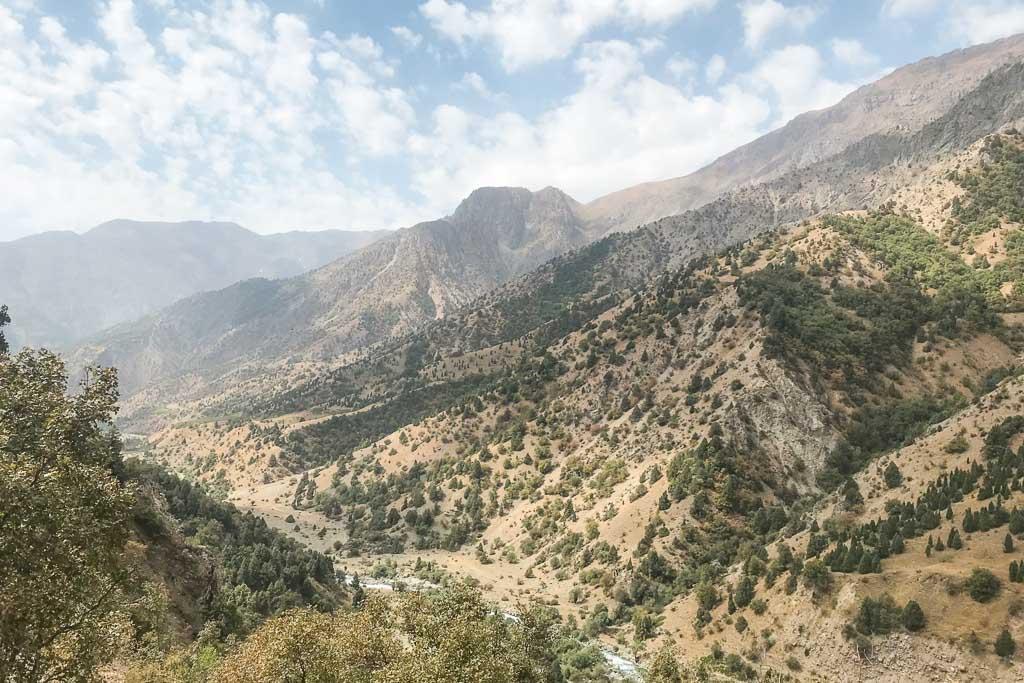 Karatag Valley, Karatag, Fann Mountains, Hakimi, Hakimi Village, Tajikistan
