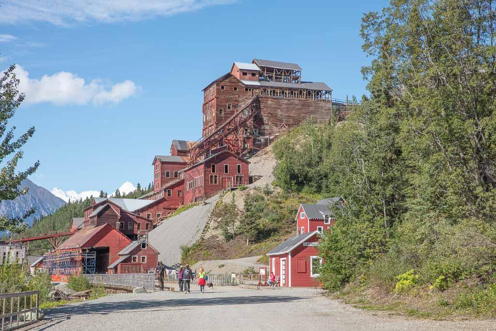 McCarthy, Kennicott, Kennicott Mine Wrangell St Elias, Root Glacier, Alaska