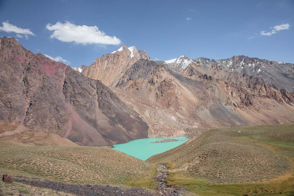 Tajik, Bartang Highway, Bartang Valley, Bartang, Pamir, Pamir Mountains, Pamirs, Tajikistan, GBAO, Gorno Badakshan Autonomous Oblast, Badakshan, Badakhshon, Khafrazdara, Khafrazdara Valley, Khafrazdara Lake, Pasor