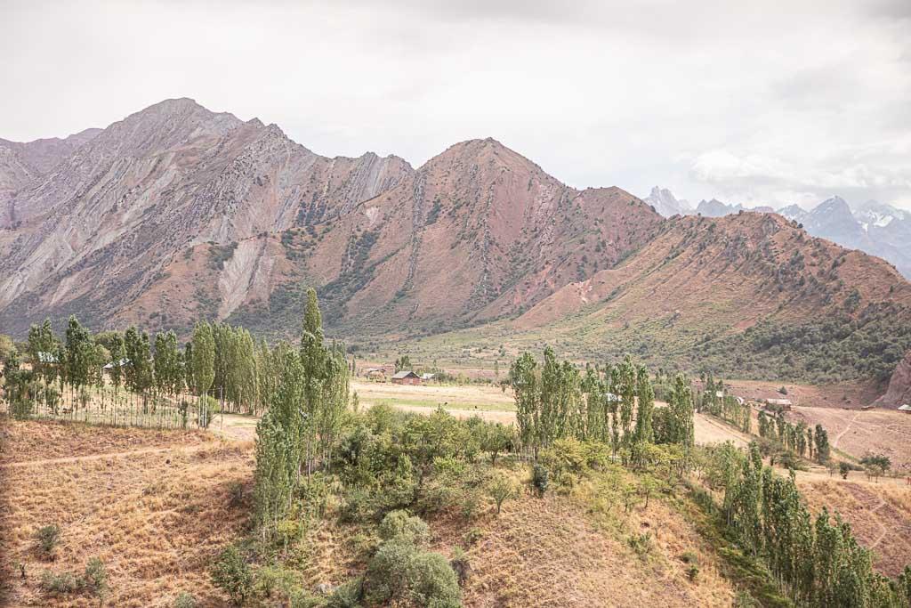 Tajikistan, Pamir, Central Asia, Rasht Valley, Garden i Kaftar Trek, Sangvor