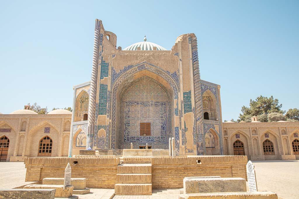 Afghanistan Travel, Afghanistan Travel Guide, Afghanistan, Balkh, Old Balkh, Khoja Parsa, Khoja Parsa Mausoleum
