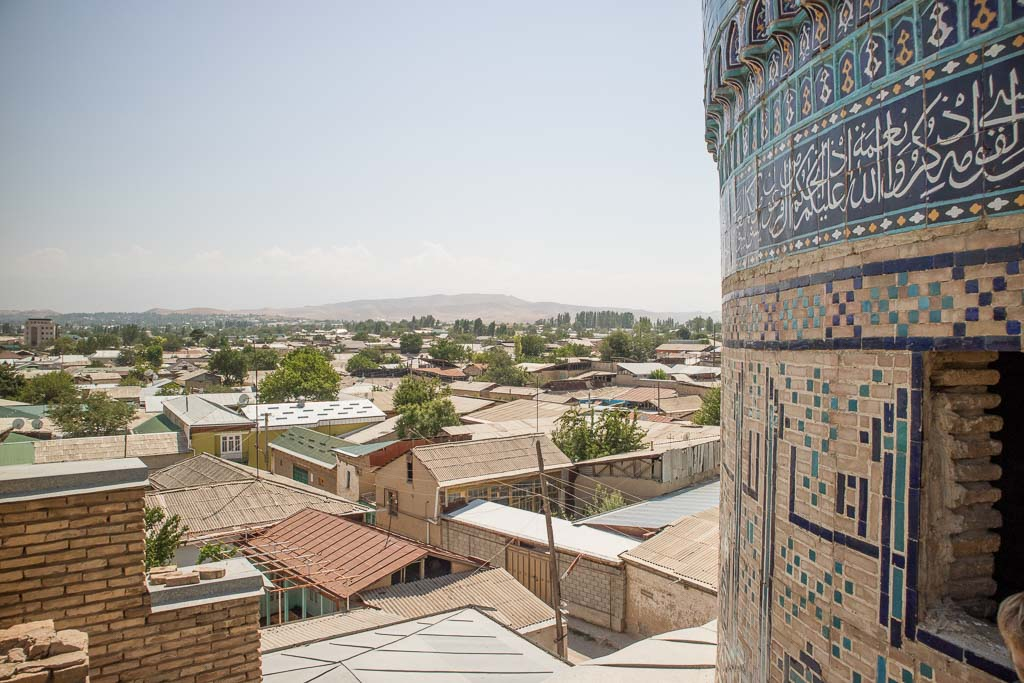 Kok Gumbaz, Kok Gumbaz Istaravshan, Abdul Latif Sultan Madrasa, Abdullatif Sultan Madrasa, Madrasa, Istaravshan, Tajikistan, Fergana Valley, Fergana, Tajik Fergana Valley, Central Asia