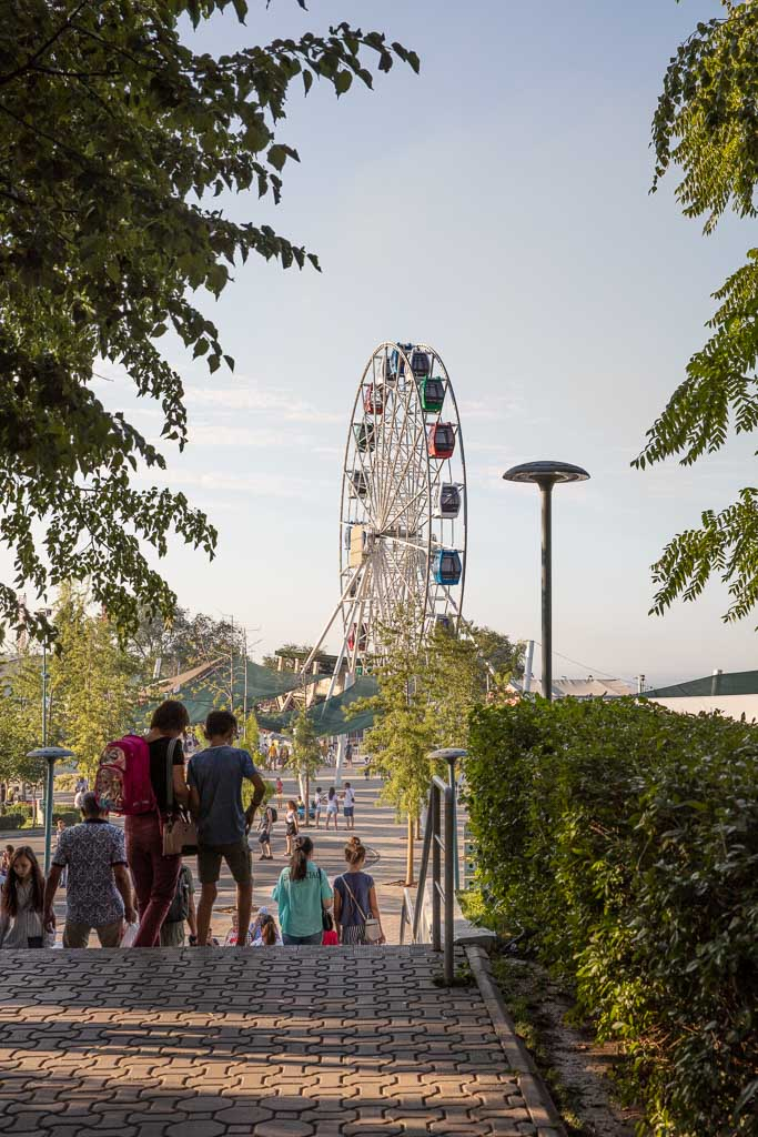 Kok Tobe, Almaty, Kazakhstan, ferris wheel Almaty, ferris wheel kazakhstan, carnival almaty, carnival kazakhstan, kök tobe