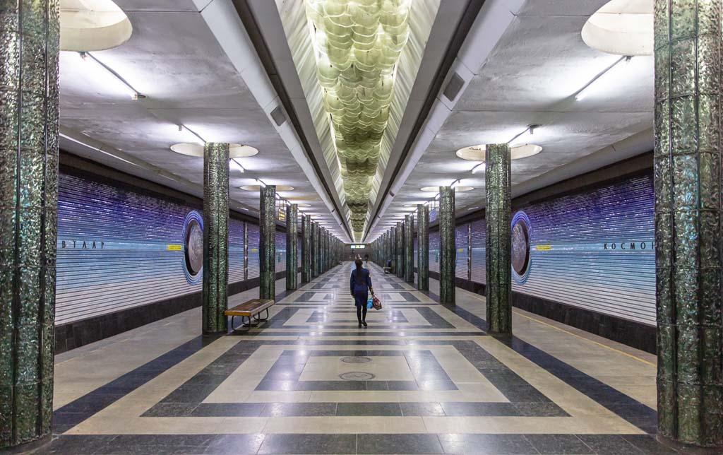 Kosmonavtlar, Kosmonavtlar Station, Tashkent Metro, Tashkent, Uzbekistan, Ozbekiston, Central, Asia, metro, subway, Uzbekistan metro, Uzbekistan metro