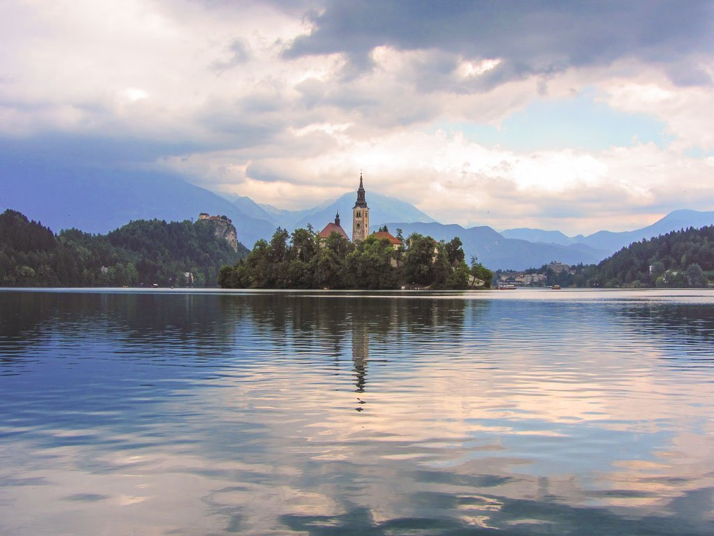 Lake Bled, Bled, Slovenia, unique cheap places to travel summer