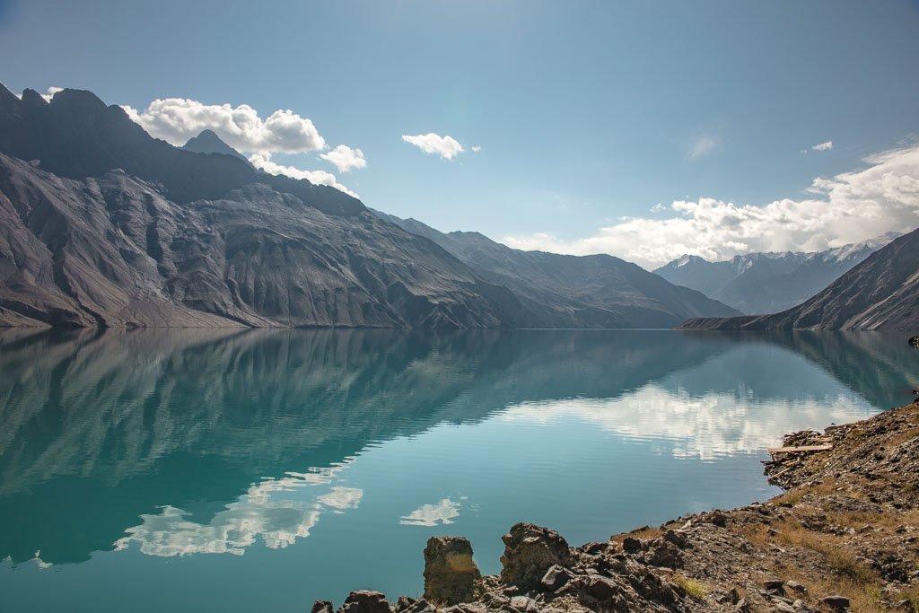 Lake Sarez, Sarez, Tajikistan, Pamirs, GBAO, Badakhshan, Gorno Badakhshan, Pamir, Pamir Mountains, Bartang