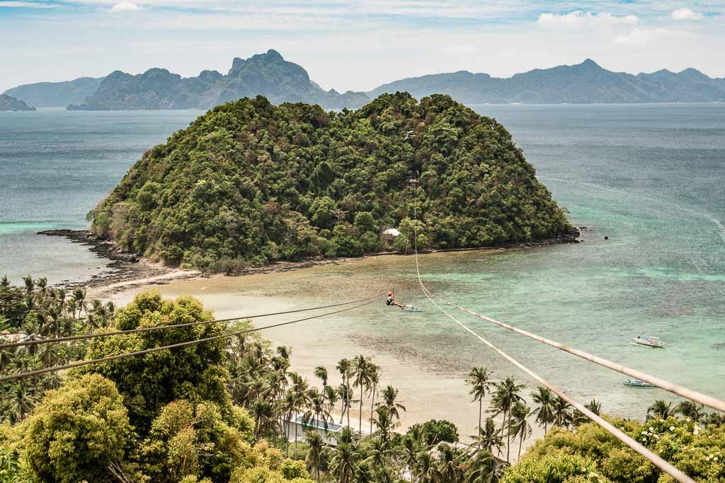 El Nido, EL Nido zipline, El Nido zip line, Palawan, Philippines, Las Cabanas Beach, Las Cabanas Beach El Nido, Las Cabanas Zip line